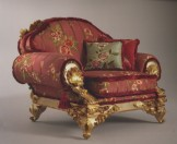 COLOMBO STILE - Armchair Art. 3588PLA