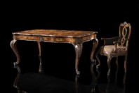 FRANCESCO MOLON - Table Art. F300 - Armchair Art. P365