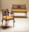 MEDEA - Sofa Art. 114 - Chair Art. 113