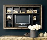 EGO ZeroVentiquattro - Bookcase with Plasma-cabinet Art. GLS704