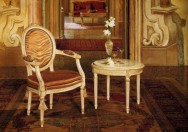 SAN VITO - Armchair Art. 03400 - Table Art. 03405