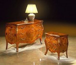 SERAFINO MARELLI - Dresser Art. 500 - Bedside table Art. 500bis
