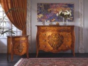SERAFINO MARELLI - Dresser and Bedside table Art. G/70